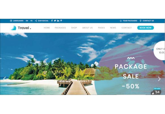 wordpress travel agency website theme
