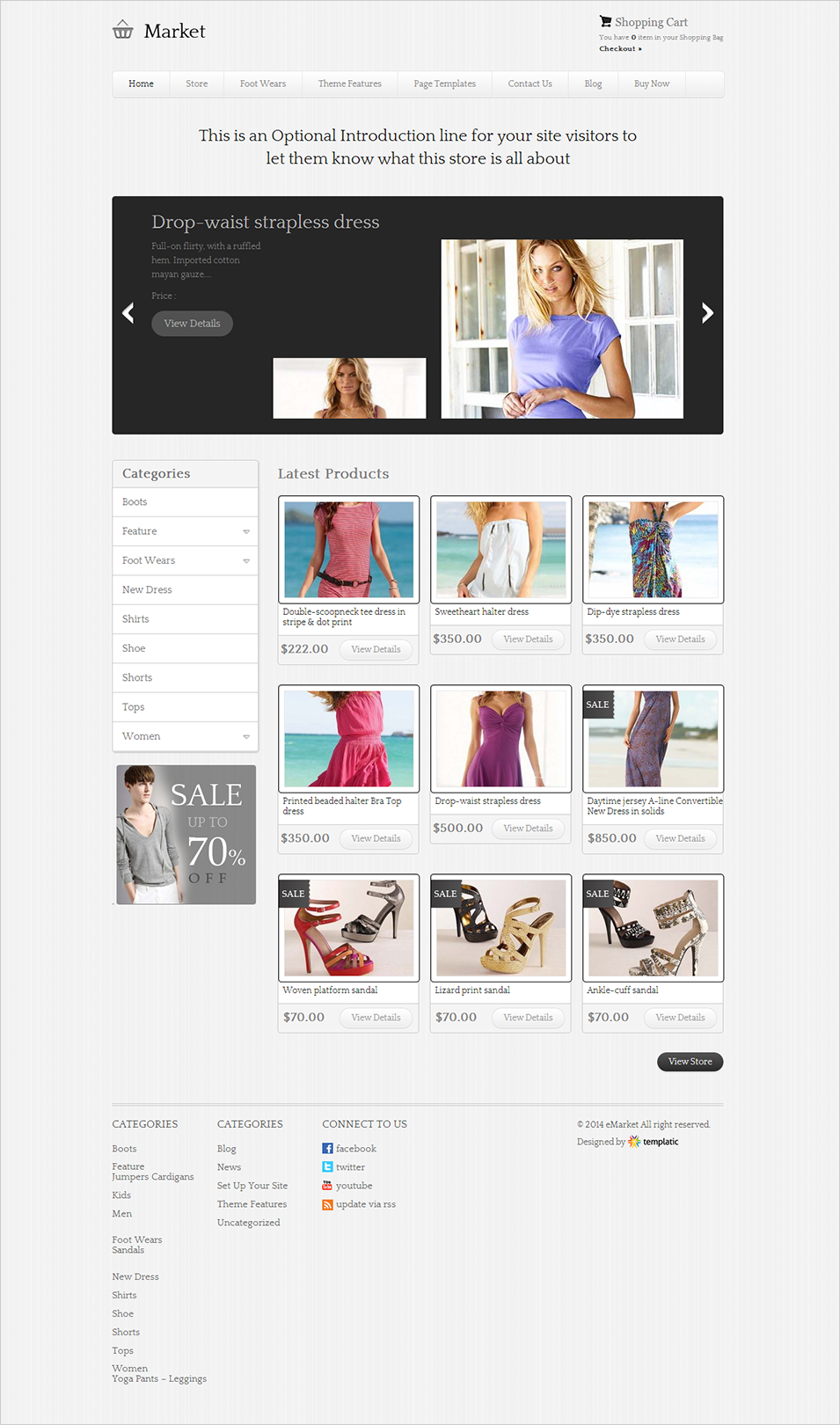 emarket wordpress theme
