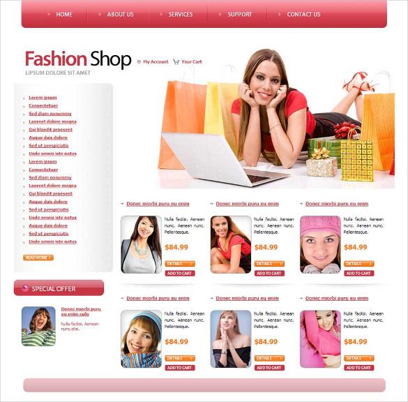 31+ Fashion Designers Website Themes & Templates | Free & Premium ...