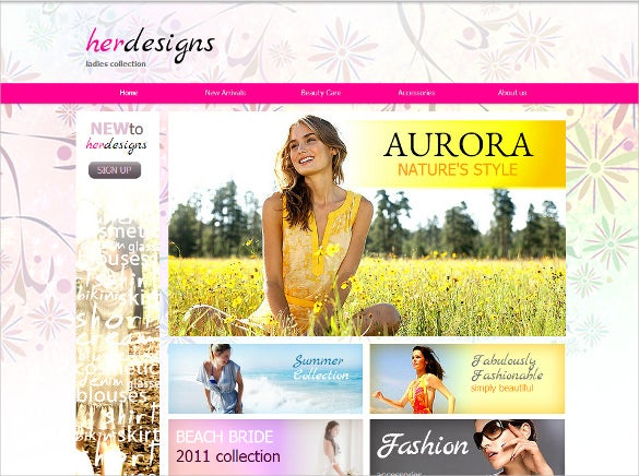 fashion designer guide joomla website template
