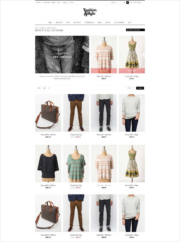 fashion designer prestashop website theme
