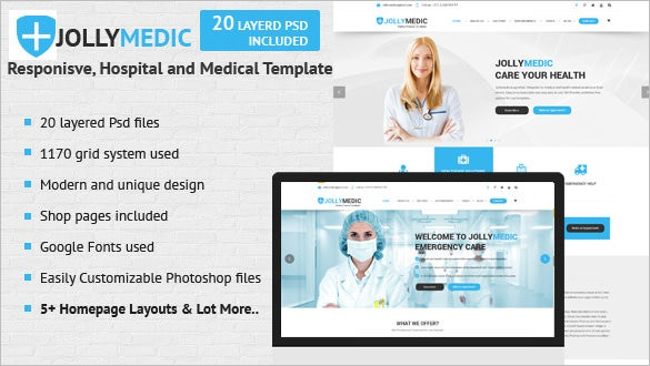 22+ Doctor Website Themes & Templates