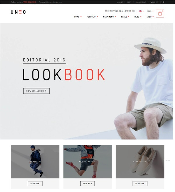 WooCommerce Grid WordPress Website Theme $59