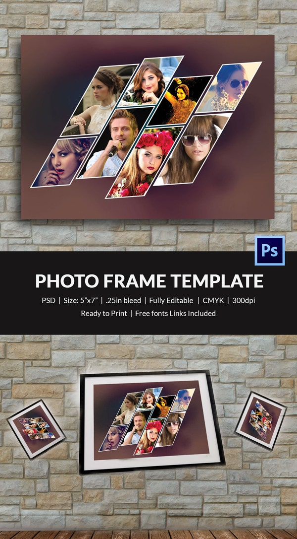 Sample Photo Frame Template