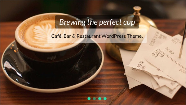 coffee shop website templates1
