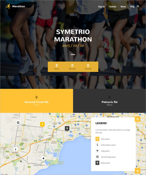 Personal Trainer WordPress Website Theme for Fitness $59