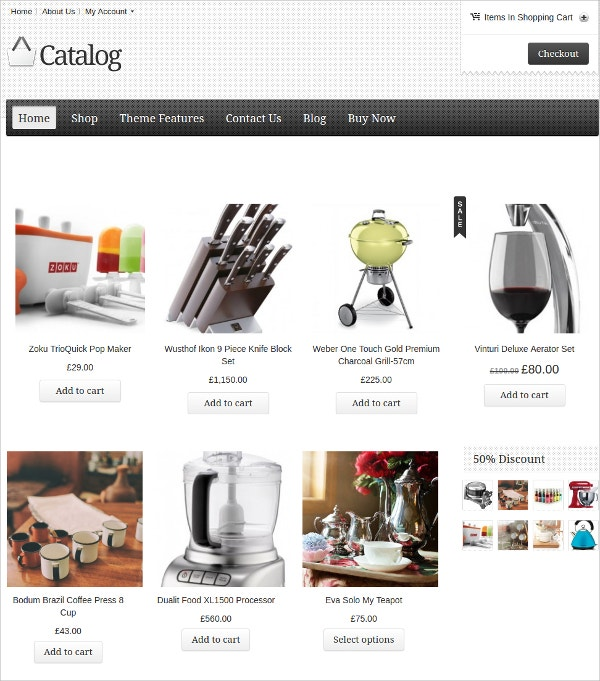 10 Catalog Wordpress Themes Templates Free Premium
