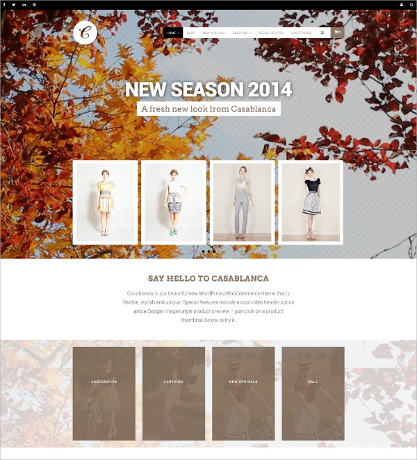Online Gifts Store WooCommerce Website Theme $59