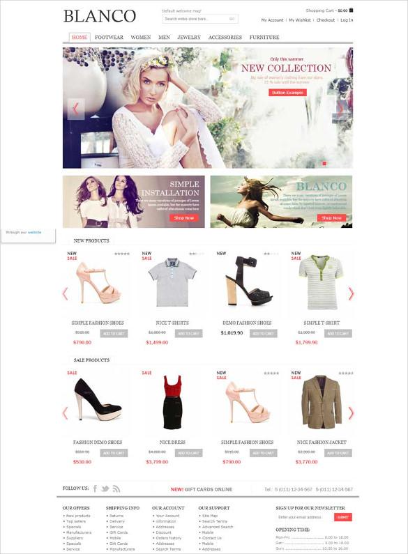 responsive fashion magento theme