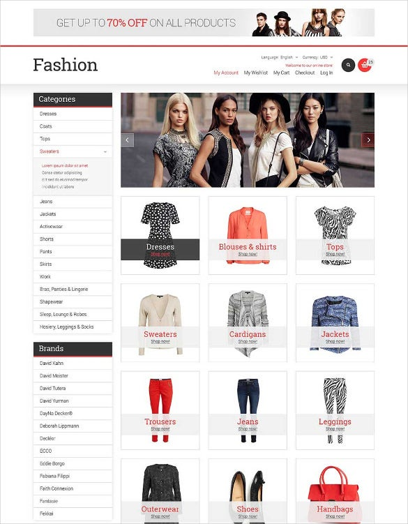 fashion store responsive magento theme1