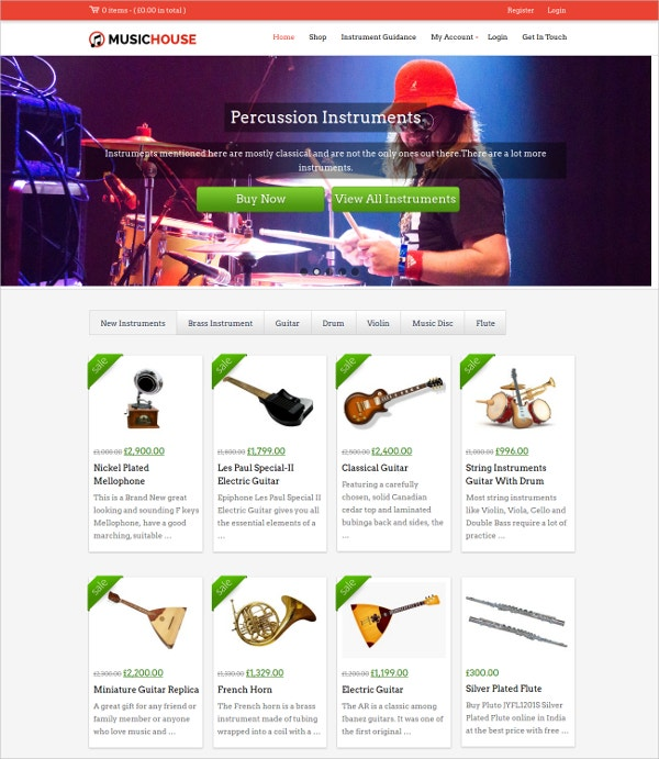 Music Accessories Shopify Theme $79