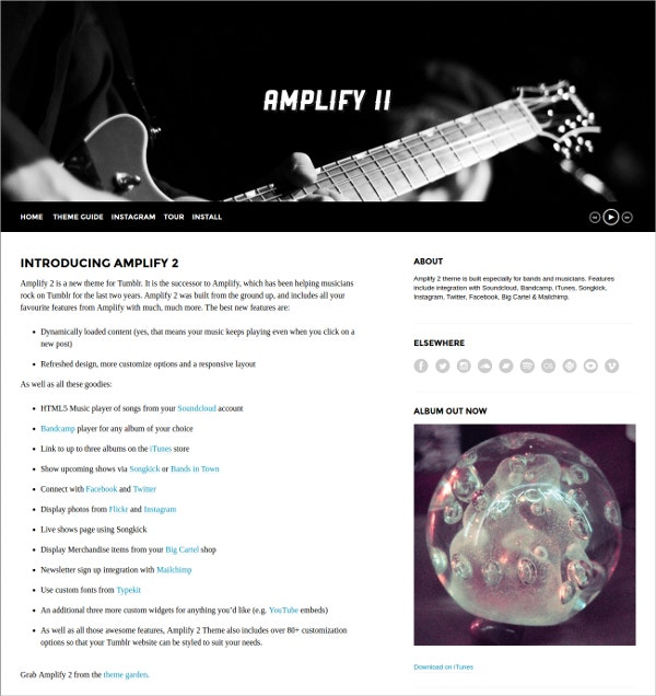 Music Bands Party Shopify Theme $49