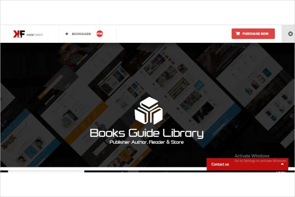 books library ecommerce store