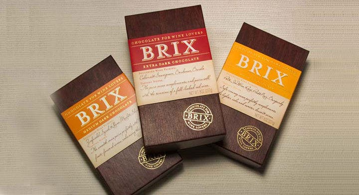 brix chocolate packing