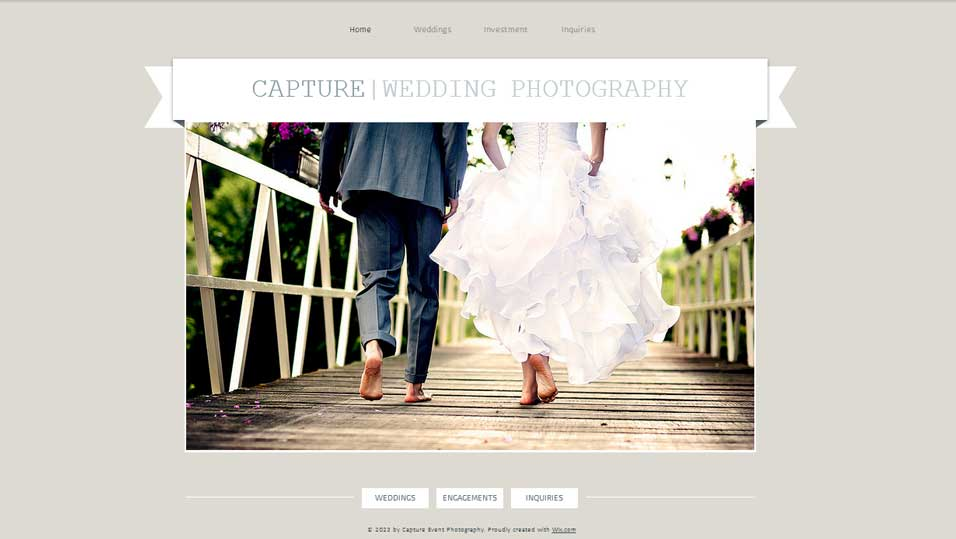 CAPTURE|WEDDING PHOTOGRAPHY