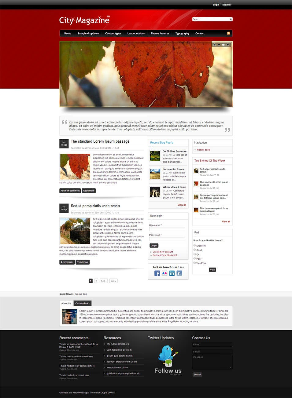 25 Best Professional Drupal Templates Amp Themes Free