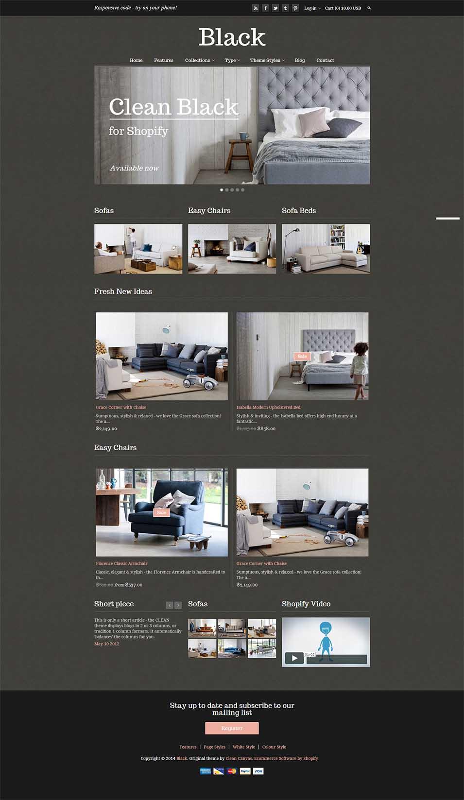 Interior Design Website Template 42812: 34+ Interior Design Website Templates