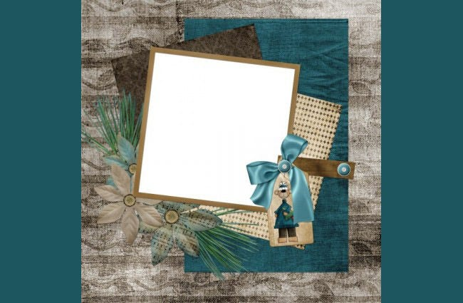 Collage Style Photo Frames