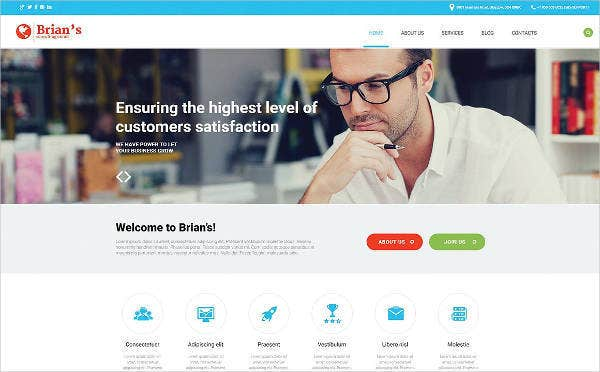 23+ Consulting Website Themes & Templates | Free & Premium Templates