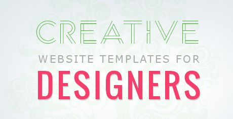 creative website templates for designers