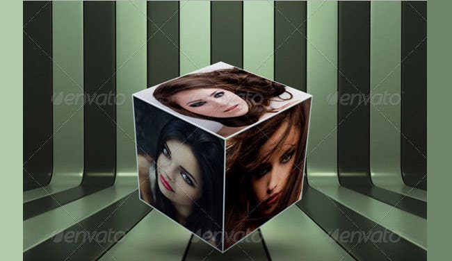 cube displayer