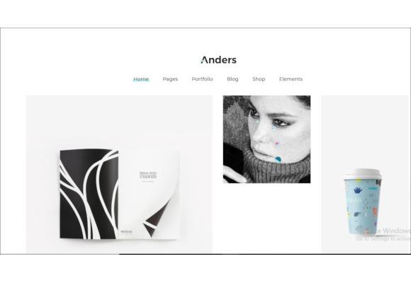 design portfolio theme