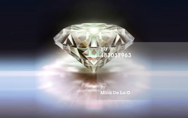 diamond purple photo template
