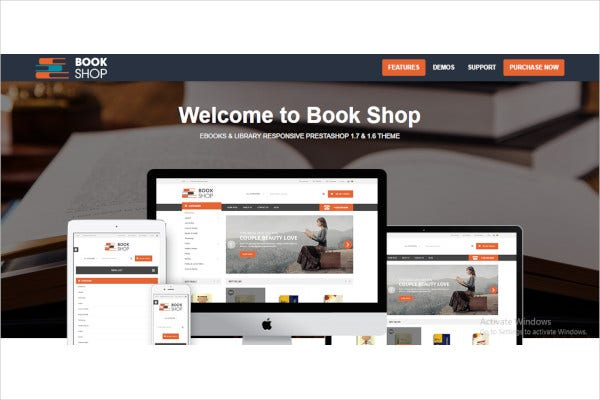 ebooks and library responsive prestashop