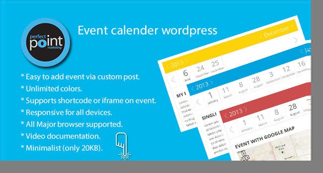 Event calender wordpress