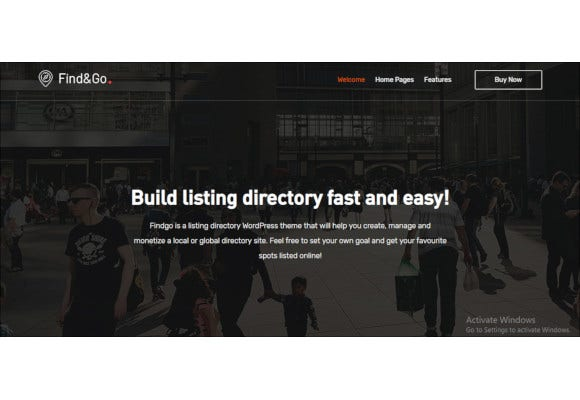 findgo directory listing theme