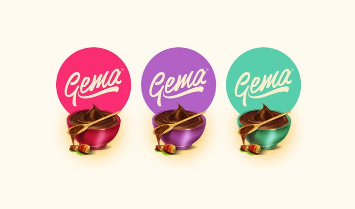 gema chocolate packaging