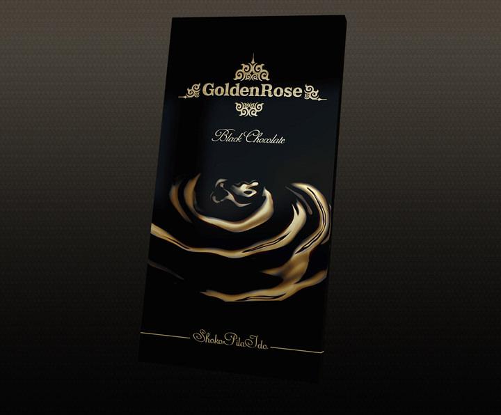 golden rose chocolate