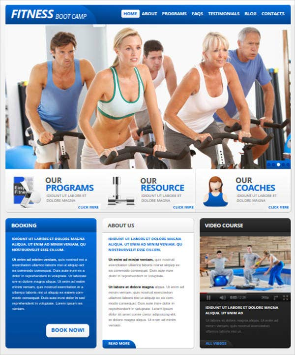 gym-and-fitness-web-template