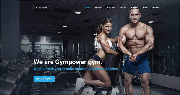 gympower-fitness-bodybuilding-website-design