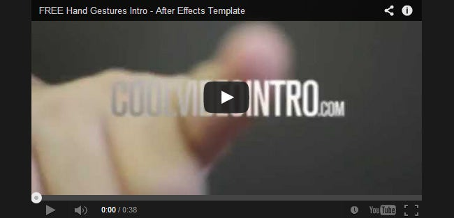 20+ Best Video Intro Templates | Free & Premium Templates