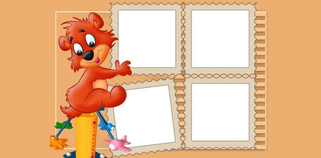 Picture Frame Clip Art Template