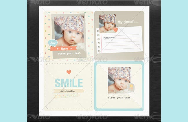 kids scrapbooks