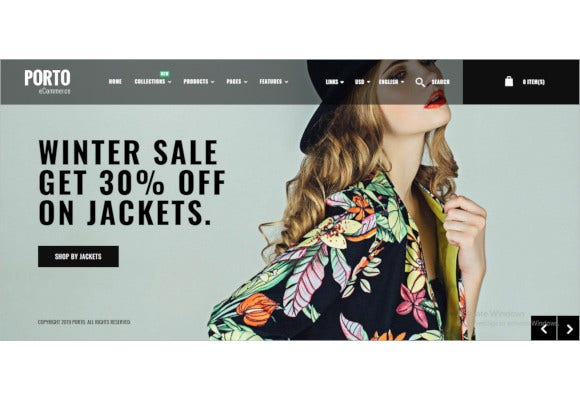 porto responsive shopify theme