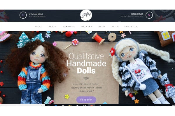 premium gift store wp website theme
