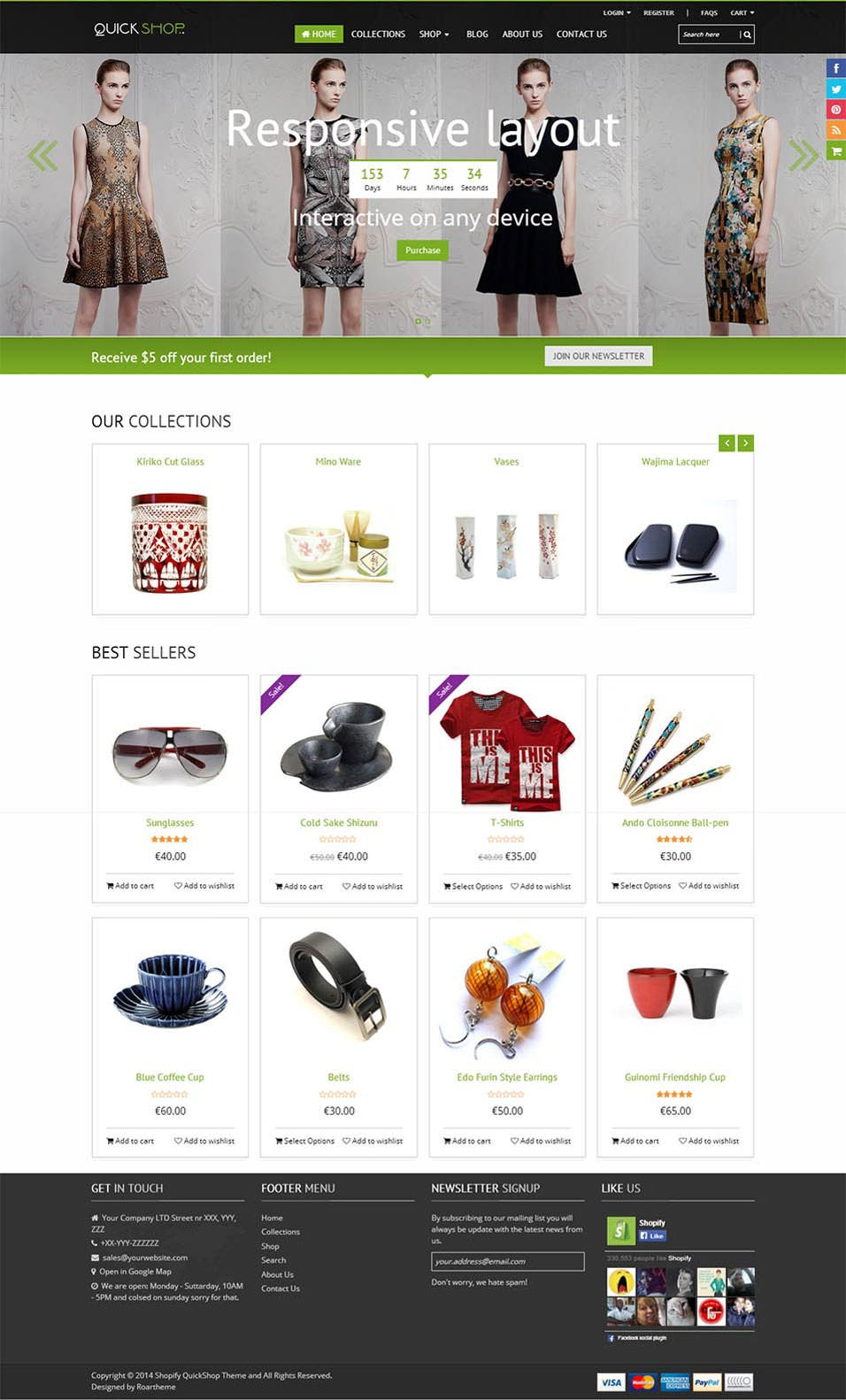 Best seo shopify themes free premium templates for Free shopify templates