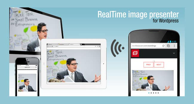 Real Time Image Presenter tool