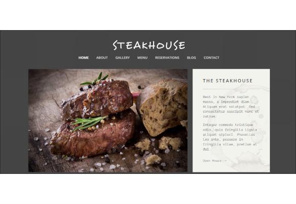 restaurant responsive retina html5 template