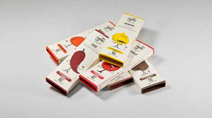 sabadi chocolate package