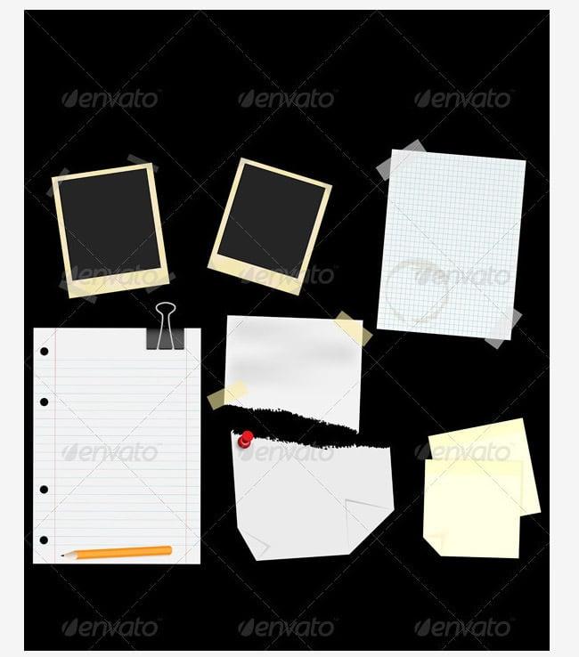 stationery scrapbooking theme