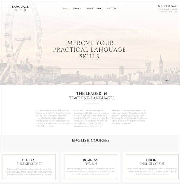 teaching-language-center-responsive-website