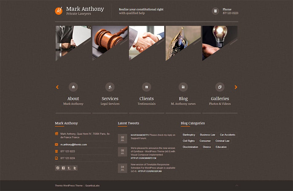 24+ Law Firms Website Themes & Template | Free & Premium Templates