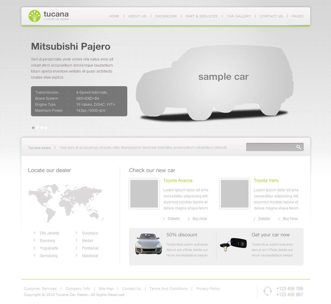tucana cars dealer template
