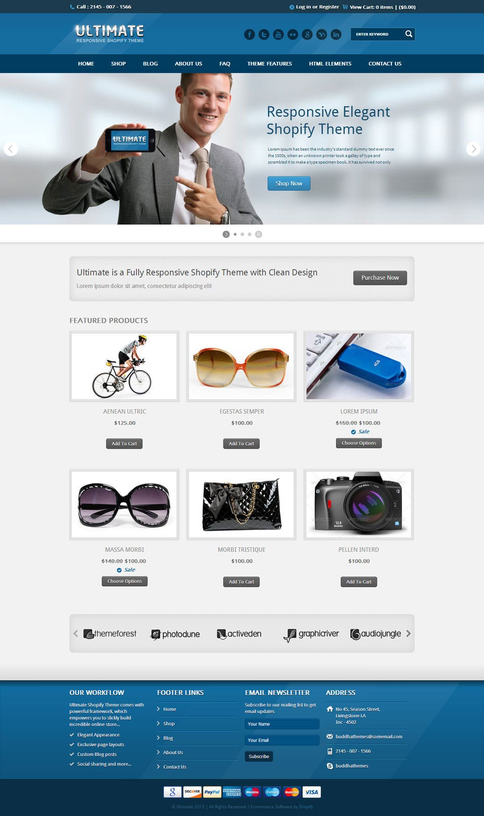 Best shopify themes for seo free premium templates for Shopify theme download