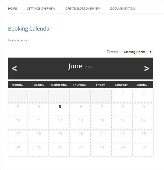 wp booking calendar1