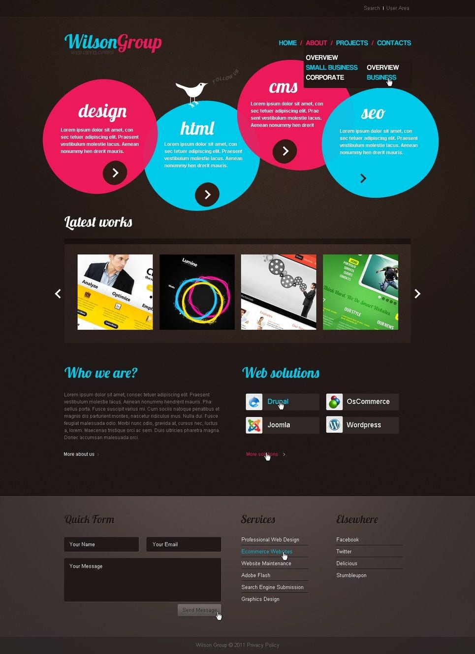 creative website design templates wwwpixsharkcom